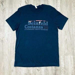 NEW Seinfeld Costanza '20 Campaign About Nothing T
